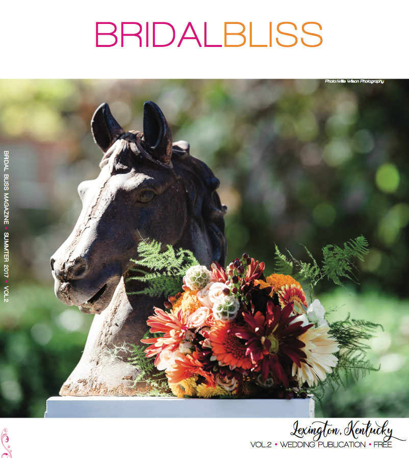 Bridal Bliss Magazine Cover Issue 001