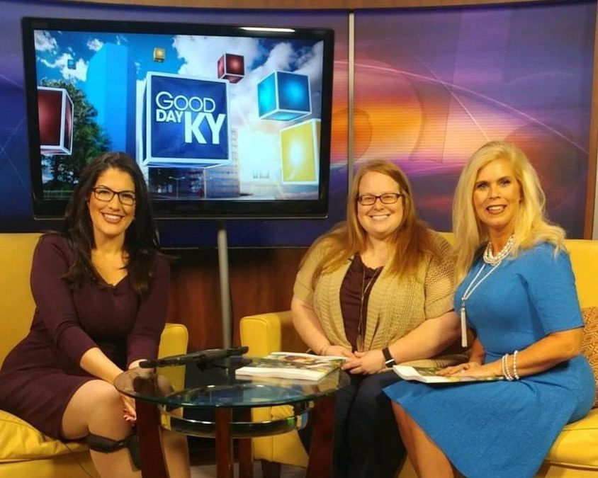 Bridal Bliss Magazine appearance on Good Day KY
