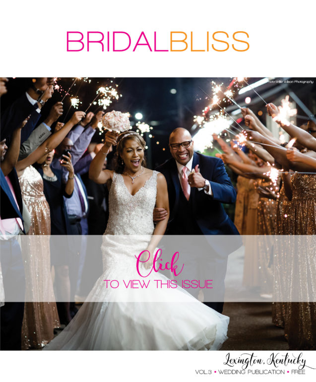 Bridal Bliss Magazine Cover Issue 003